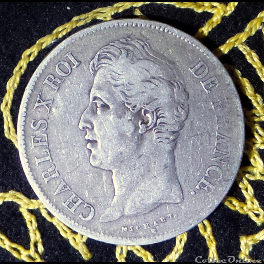 monnaie france moderne charles x