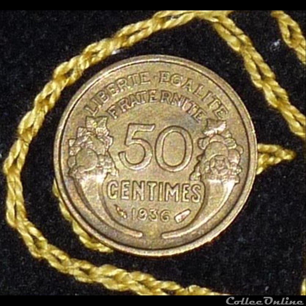 monnaie france moderne 50 centimes morlon