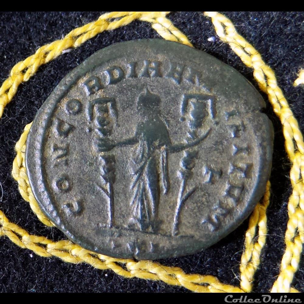 monnaie antique romaine severinae avg concordiae militvm