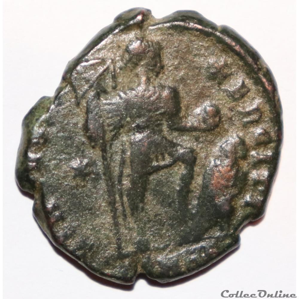 monnaie antique romaine theodose ier maiorina pucunnia