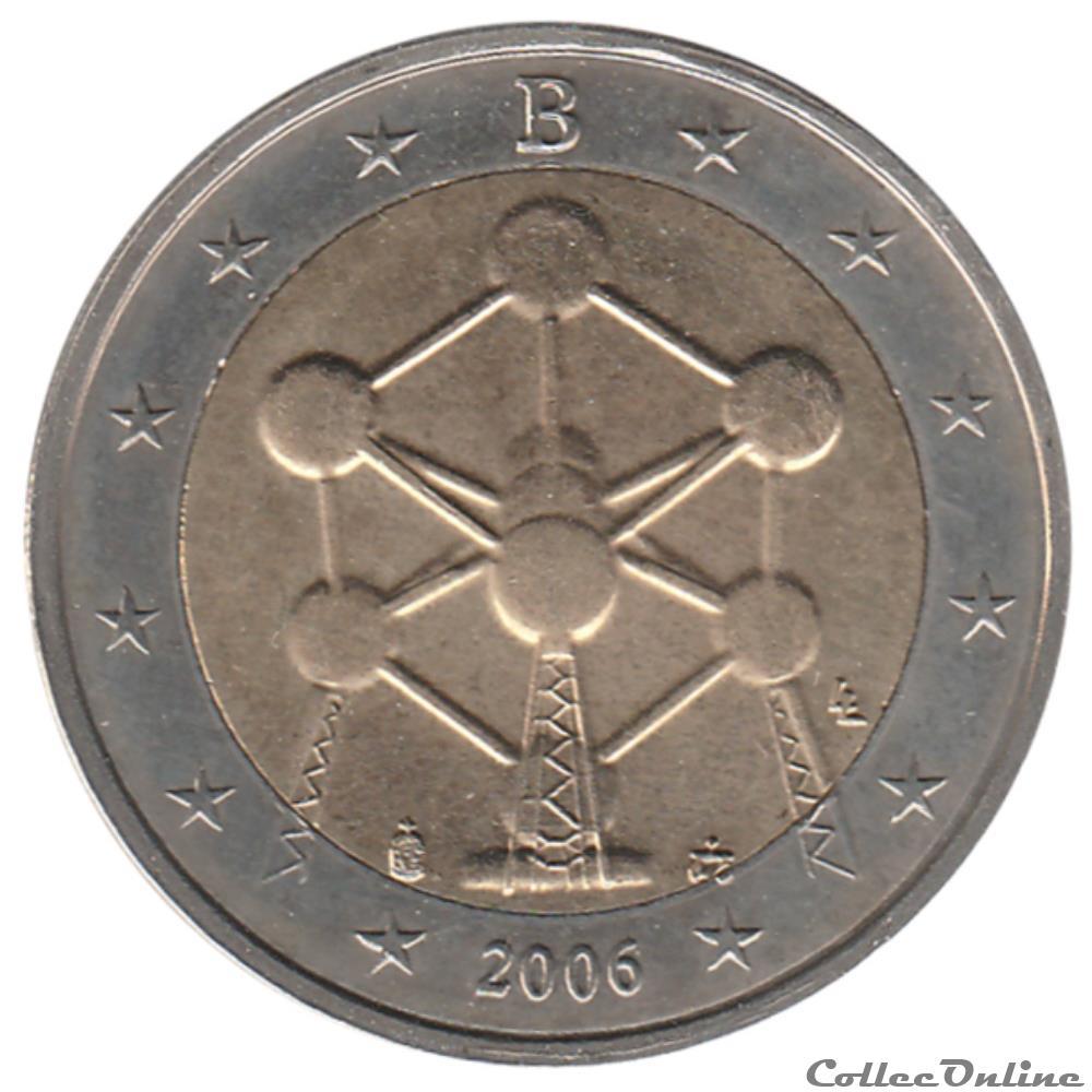 monnaie euro belgique 2006 renovation de atomium a bruxelles