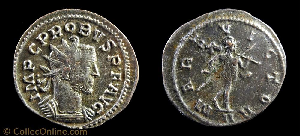 monnaie antique av jc ap romaine 54 probus mars victor