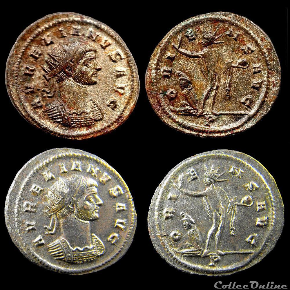 monnaie antique jc ap romaine avrelien oriens avg p