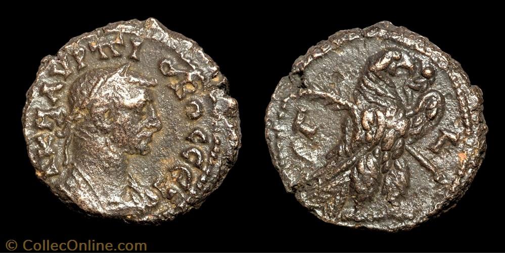 monnaie antique av jc ap romaine provinciale 183 probus aigle a droite