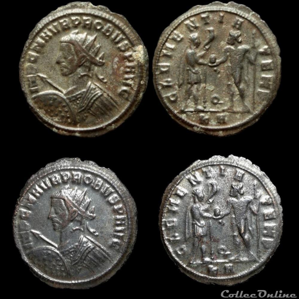 monnaie antique av jc ap romaine probvs clementia temp q ka