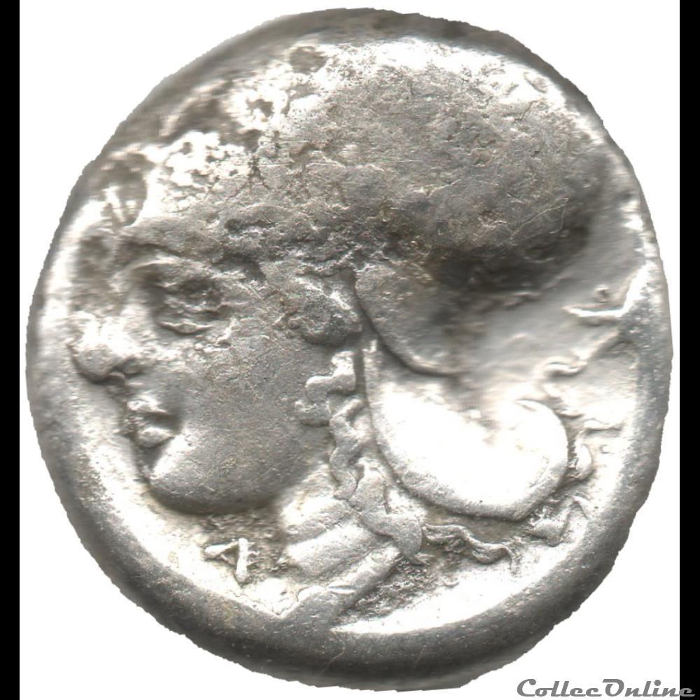 monnaie antique grecque statere corinthe