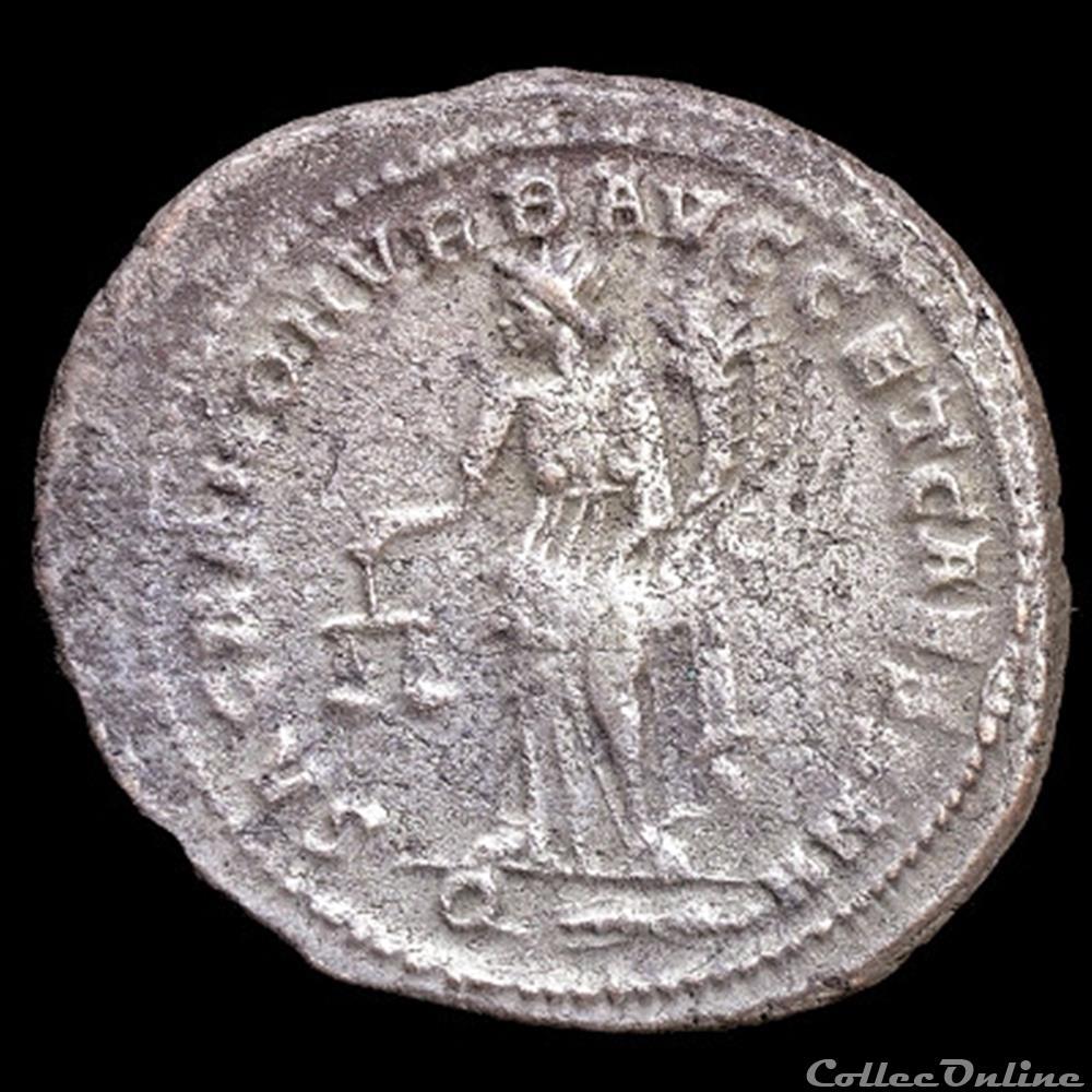 monnaie antique romaine follis de galere maximien cesar pour rome