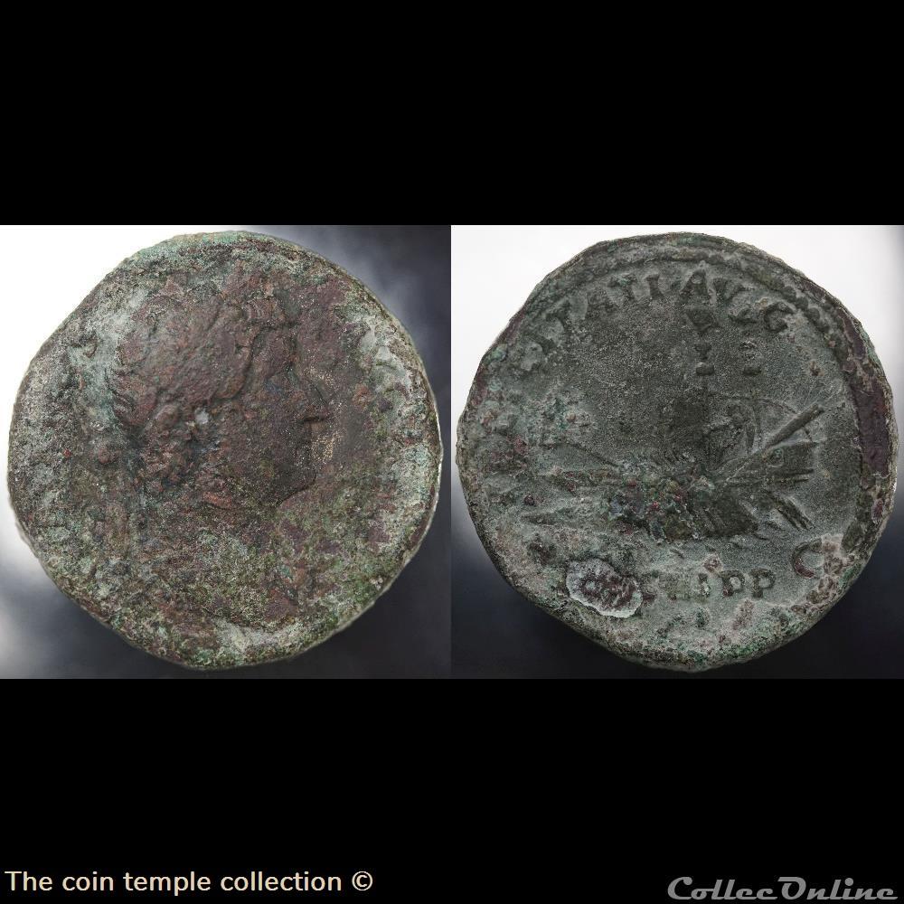 munzen antike vor j bi nach romische hadrian as ric 719