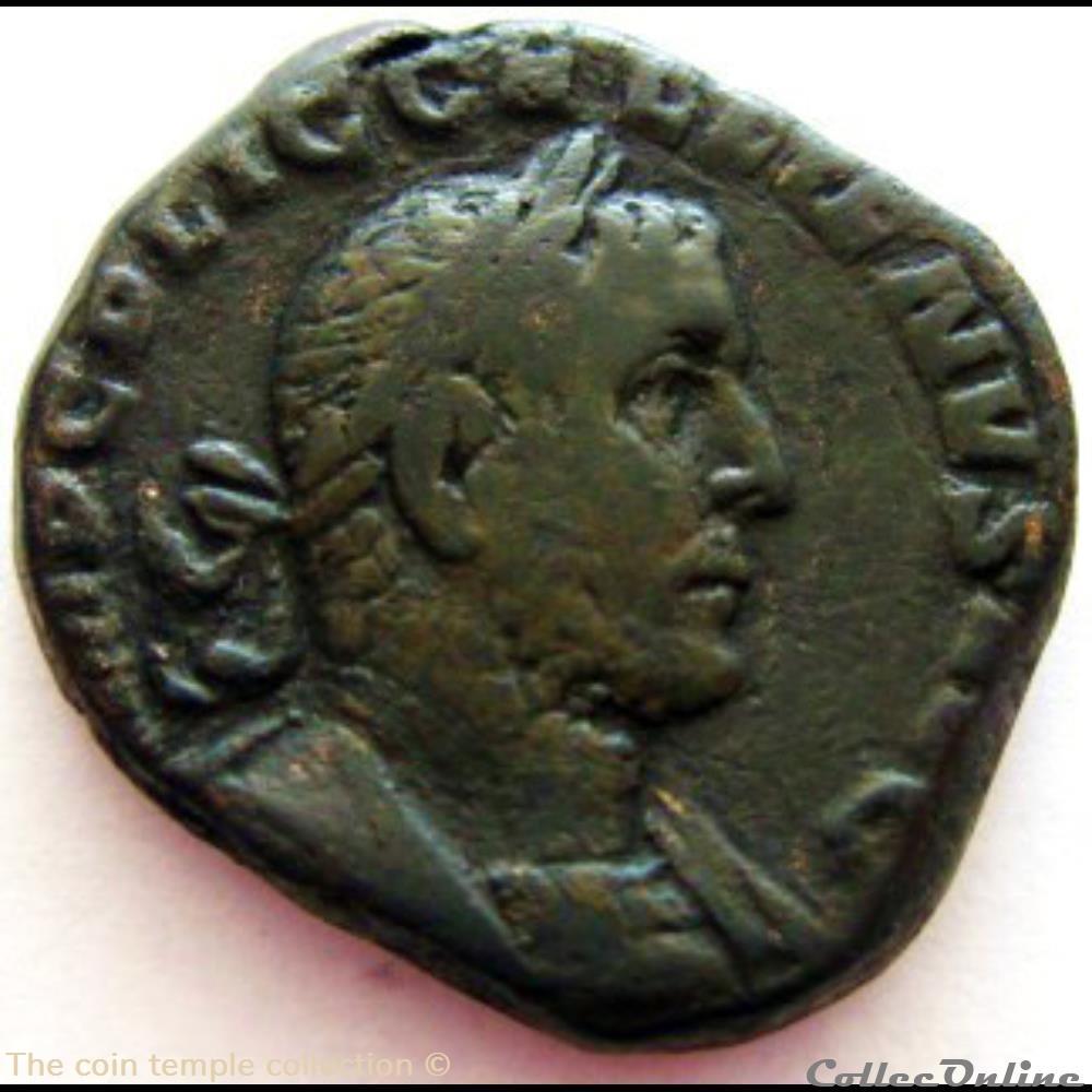 munzen antike vor j bi nach romische gallienus ric 248