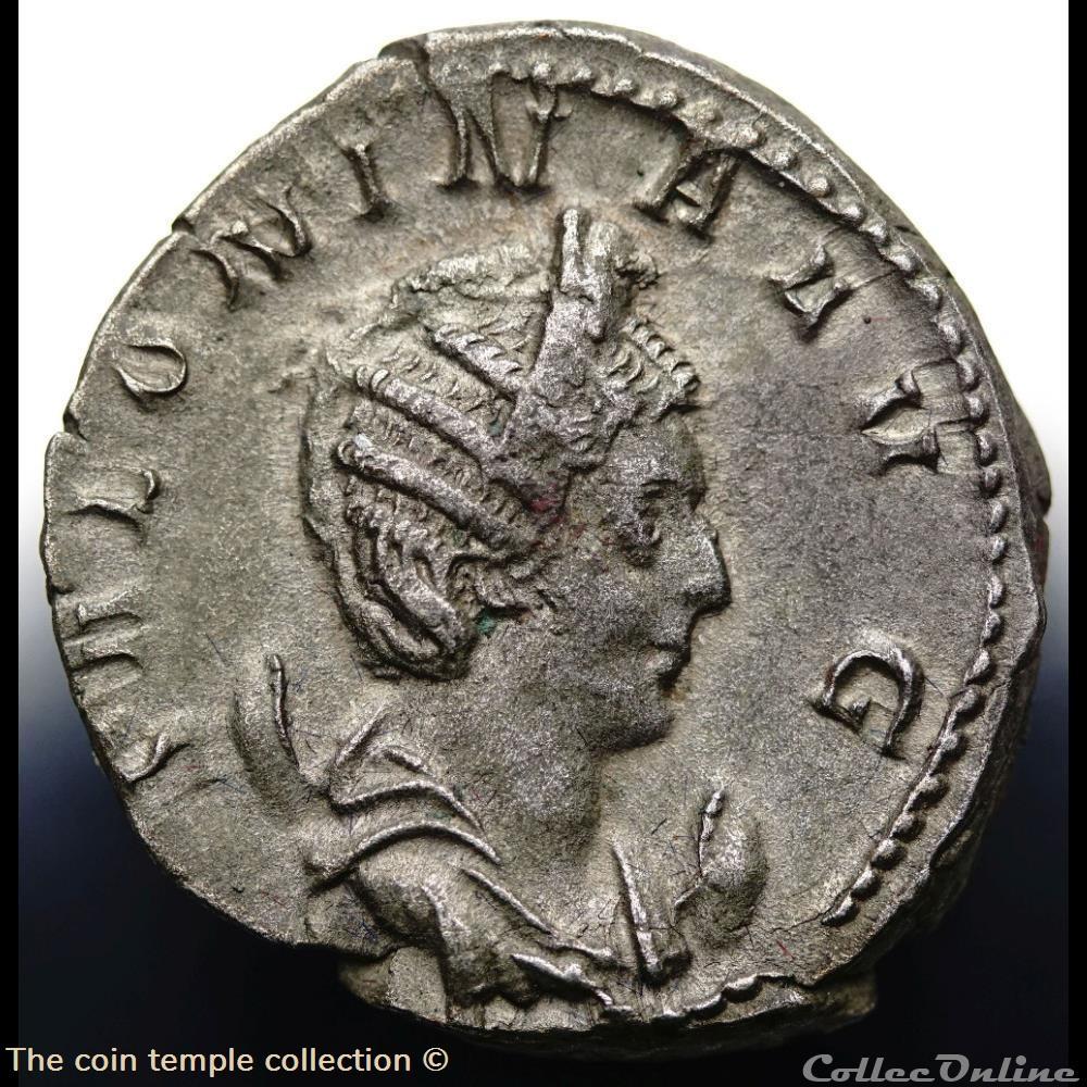 munzen antike romische salonina antoninian