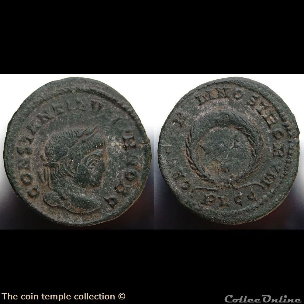 munzen antike romische constantin ii ric 217