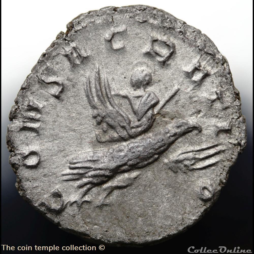 munzen antike romische valerianus ii antoninian ric 9 gobl 911e
