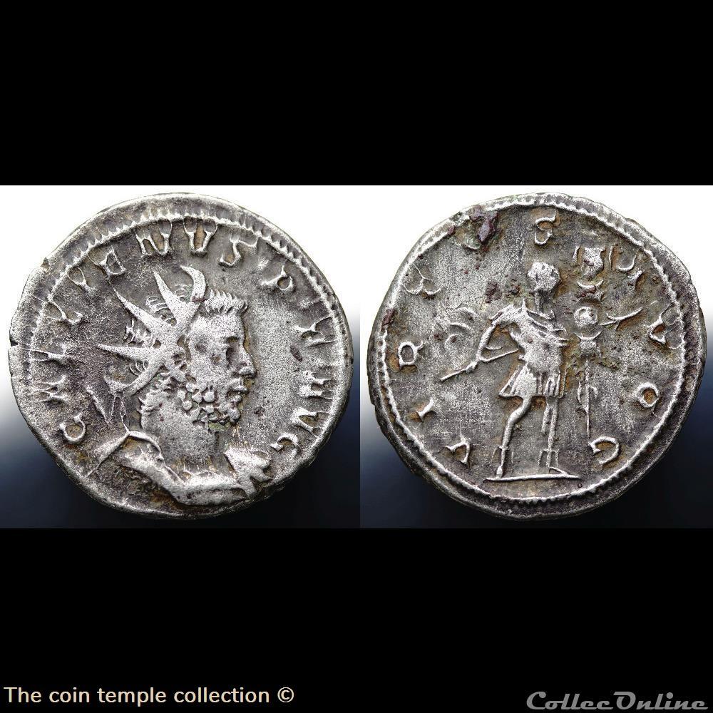 munzen antike vor j c bi nach romische gallienus gobl 882i