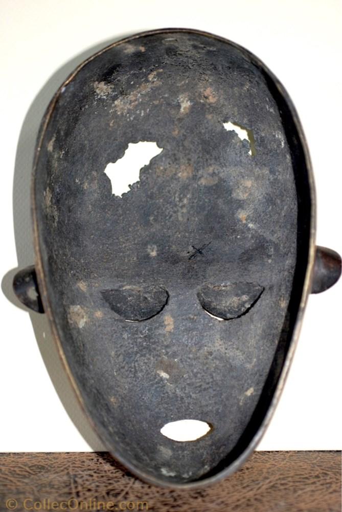 art antiquite africain masque baoule 001