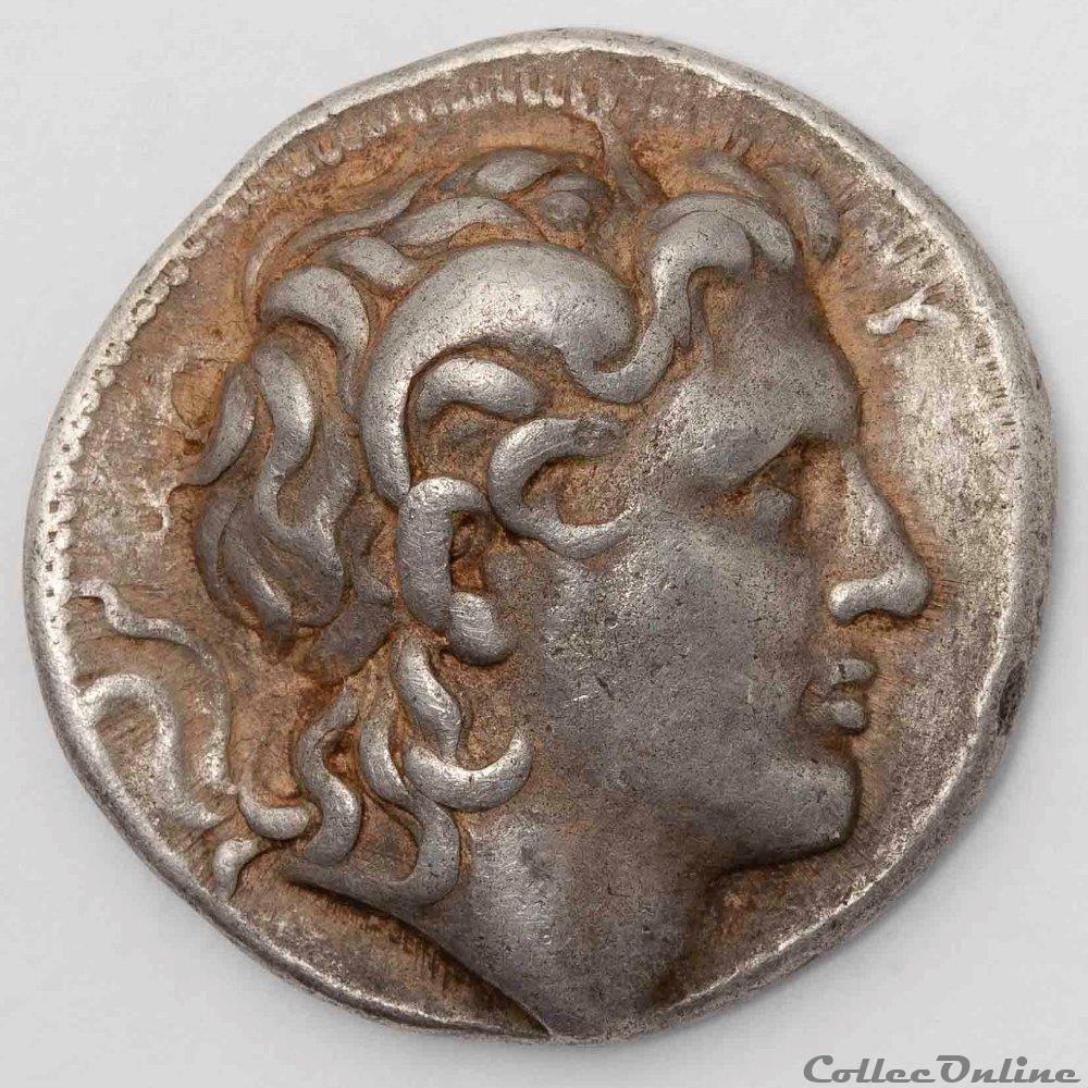 monnaie antique av jc ap grecque lysimaque