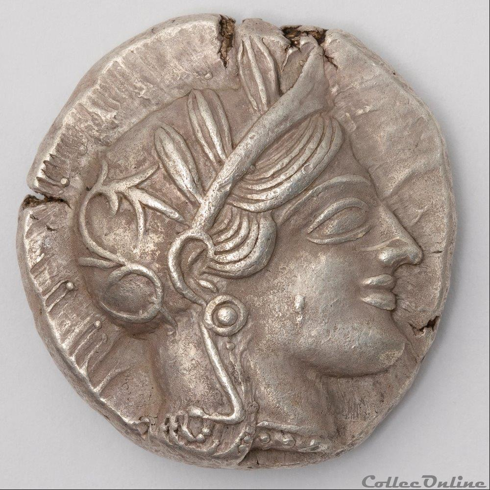 monnaie antique av jc ap grecque athenes