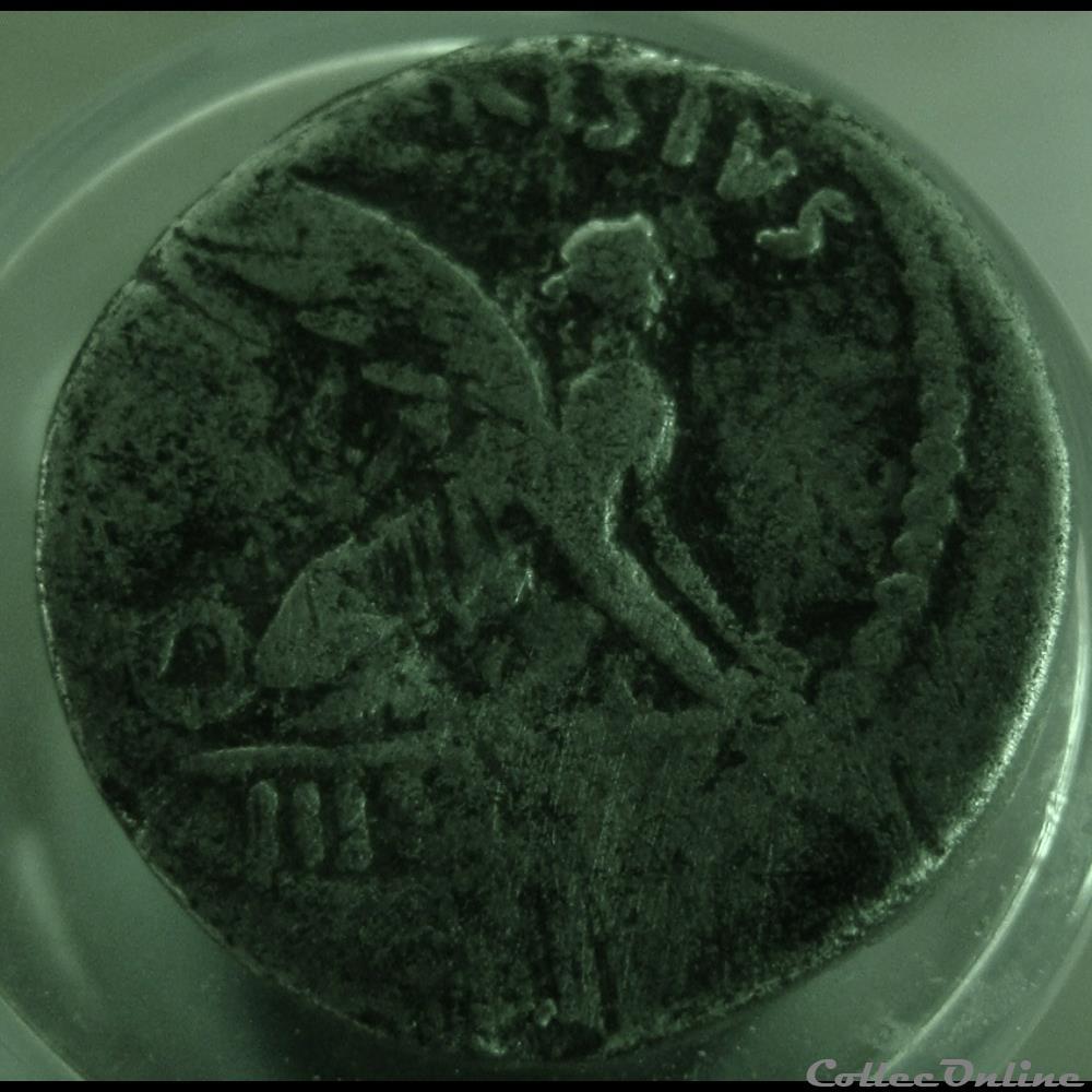 monnaie antique romaine denier carisia