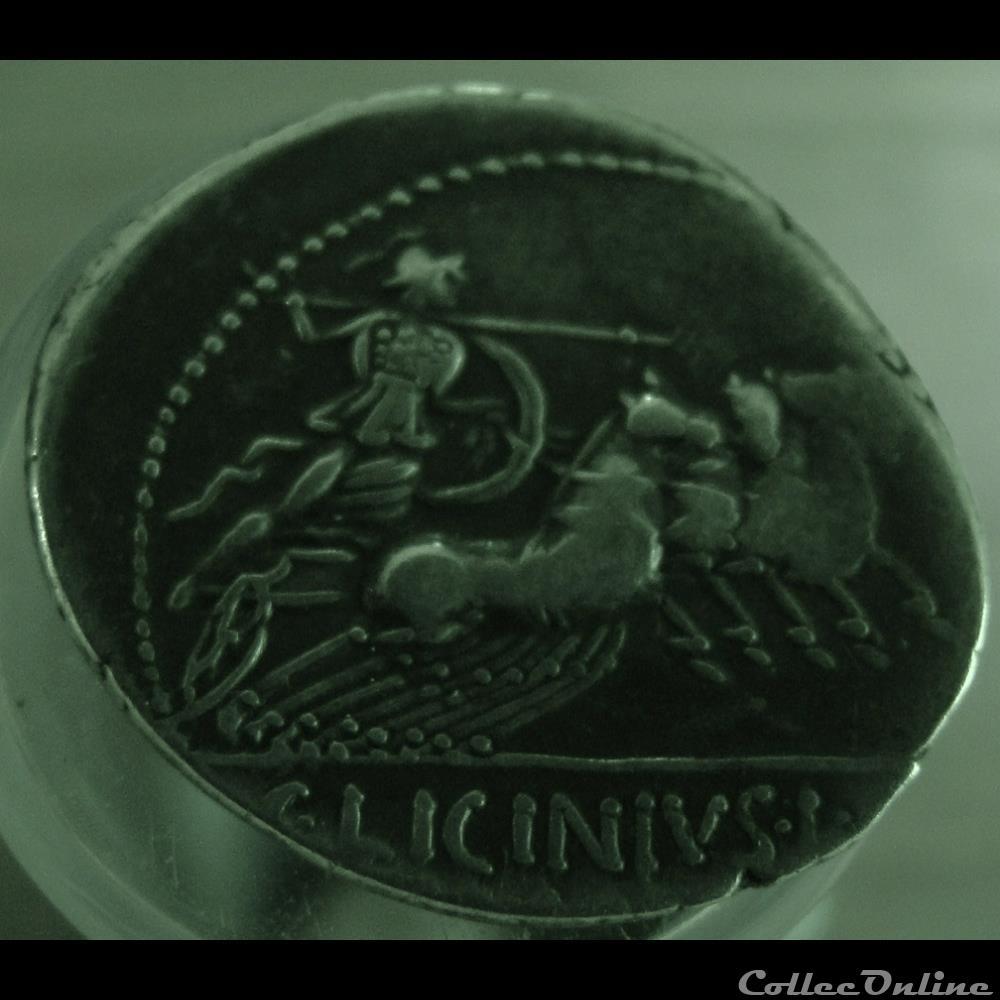 monnaie antique romaine denier licinia