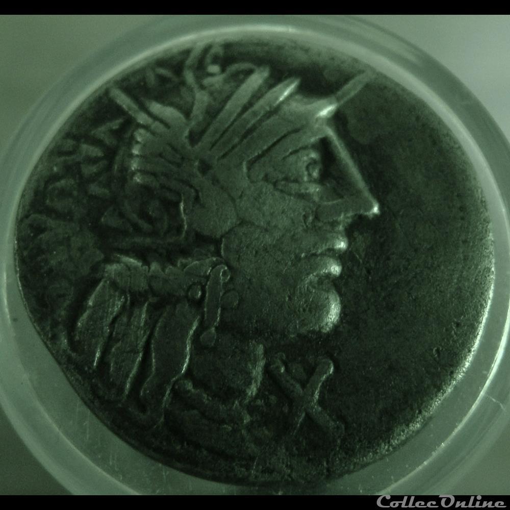 monnaie antique romaine denier fannia