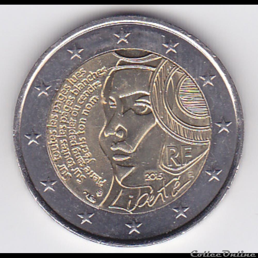 monnaie france piece 2 euros 225e anniversaire de la fete de la federation