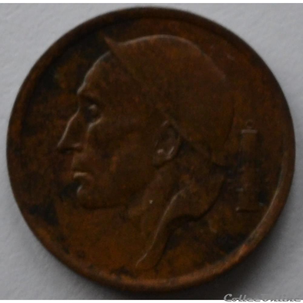 monnaie monde belgique 20 centimes 1953