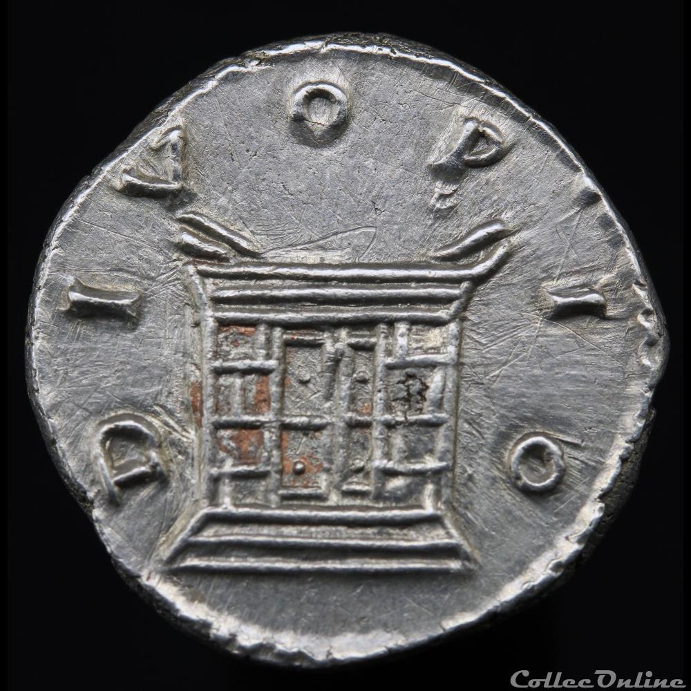 monnaie antique romaine antonin le pieux 138 161 denier divo pio