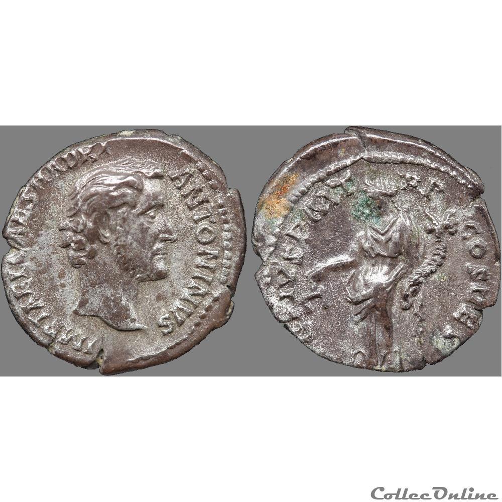monnaie antique romaine antonin le pieux 138 161 denier