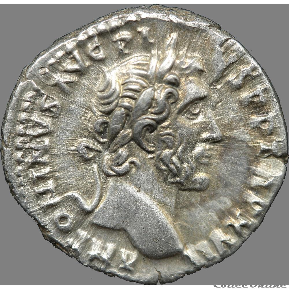 monnaie antique av jc ap romaine antonin le pieux 138 161 denier