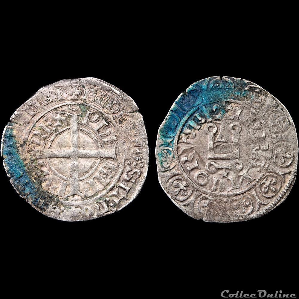 monnaie france a royale philippe vi 1328 1350 gros