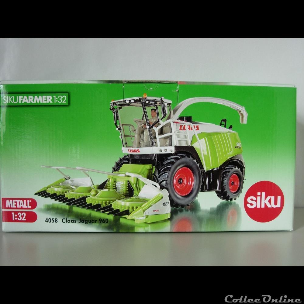 modele reduit vehicule agricole siku 4058 claas jaguar 960 oui