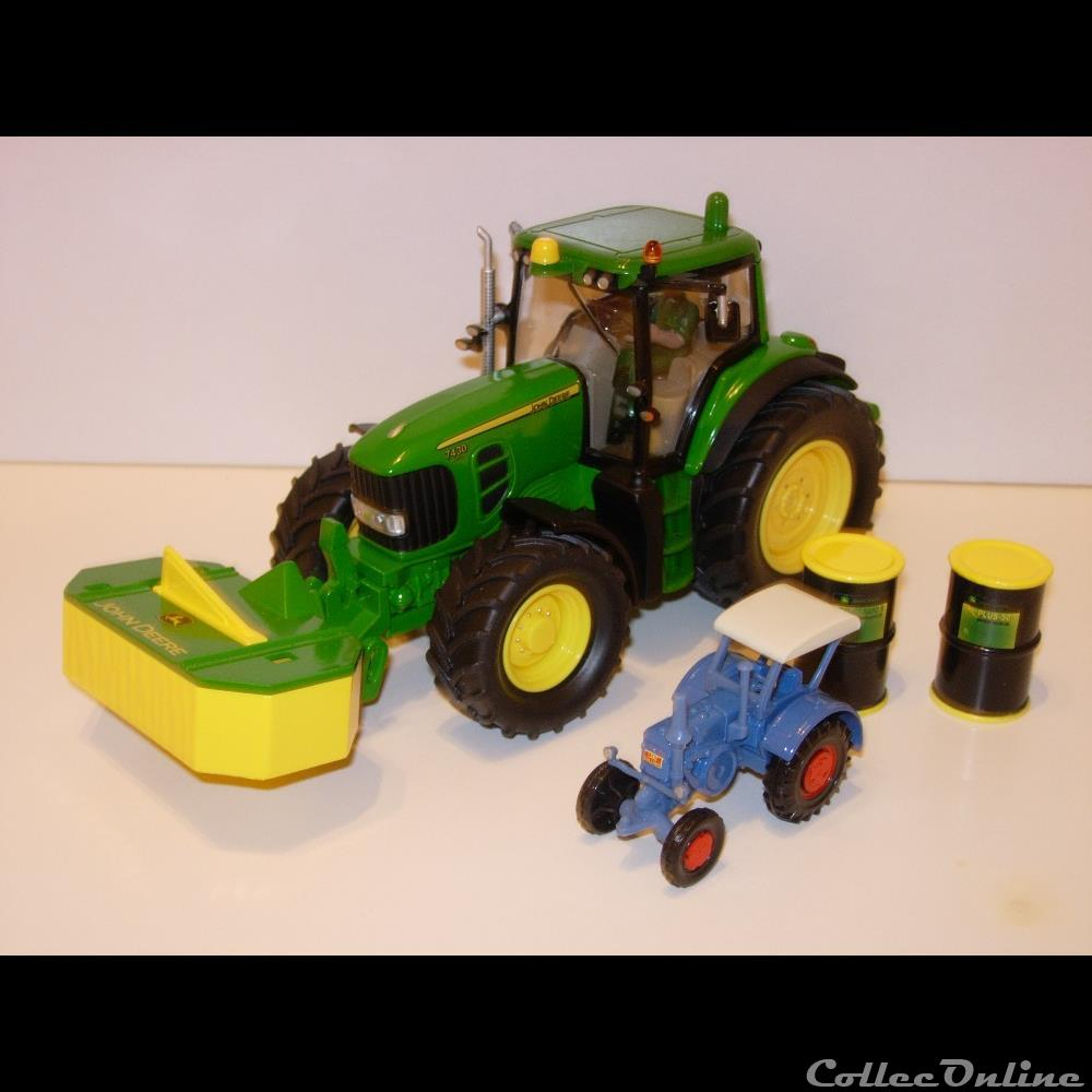 modele reduit vehicule agricole siku sp02 john deere 7430 power set oui