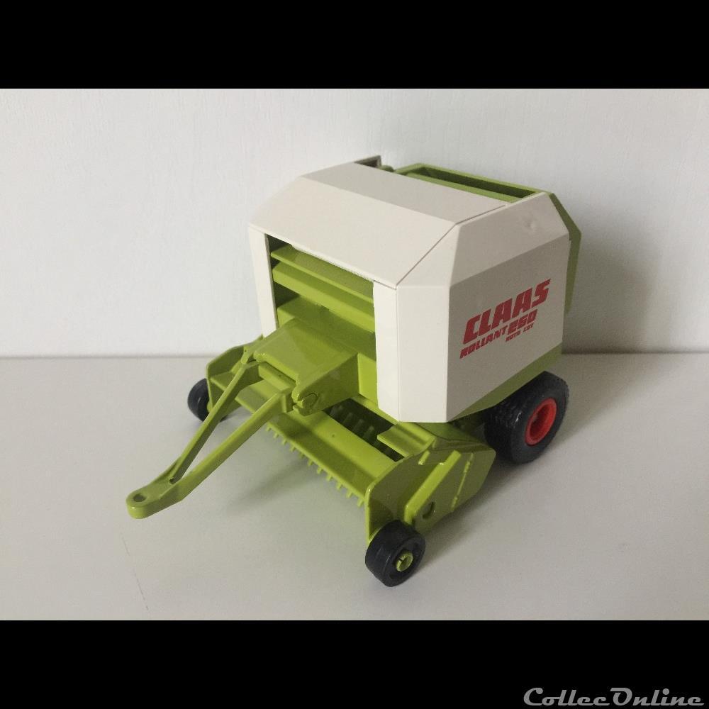 modele reduit vehicule agricole siku 2268 claas rollant 250 roto cut oui