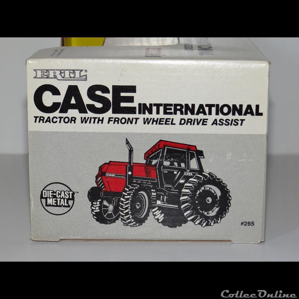 modele reduit vehicule agricole ertl 265 case ih 2294 oui