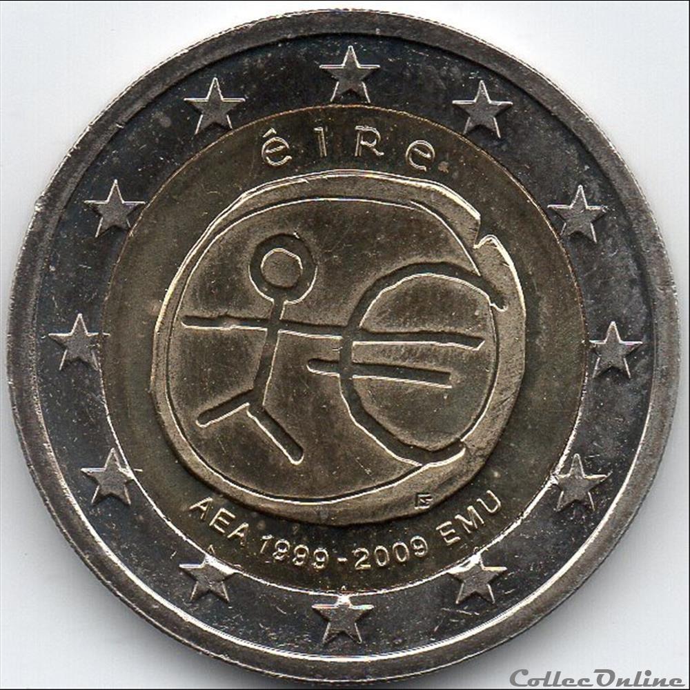 monnaie euro irlande 2009 x an u e et monetaire