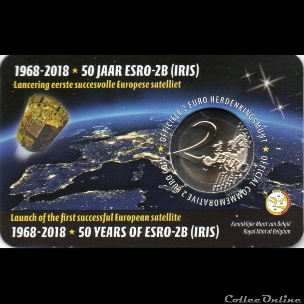 monnaie euro a belgique 2018 esro