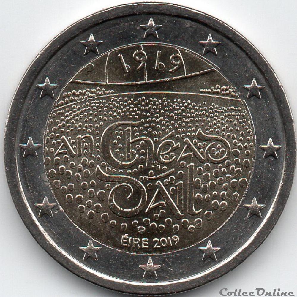 monnaie euro irlande 2019 dail eireann