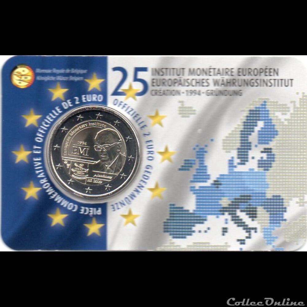 monnaie belgique 2019 institut monetaire europeen