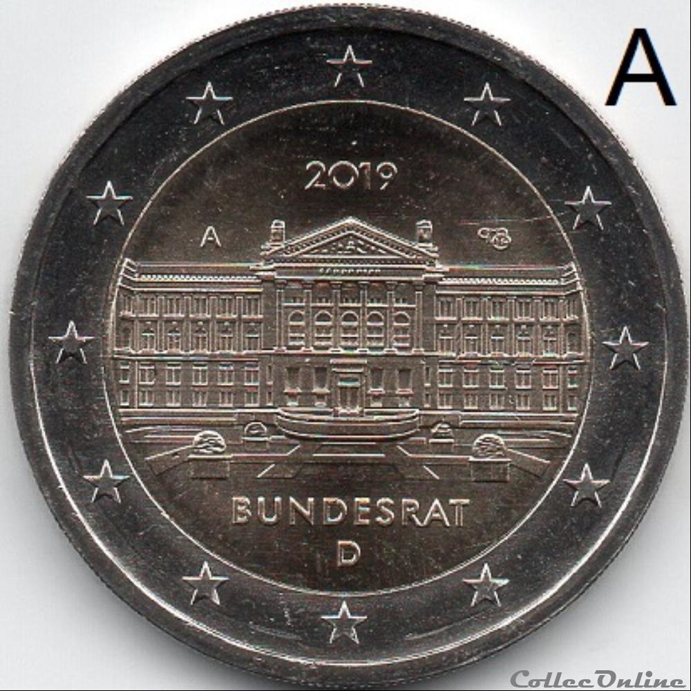 monnaie euro allemagne 2019 bundesrat berlin