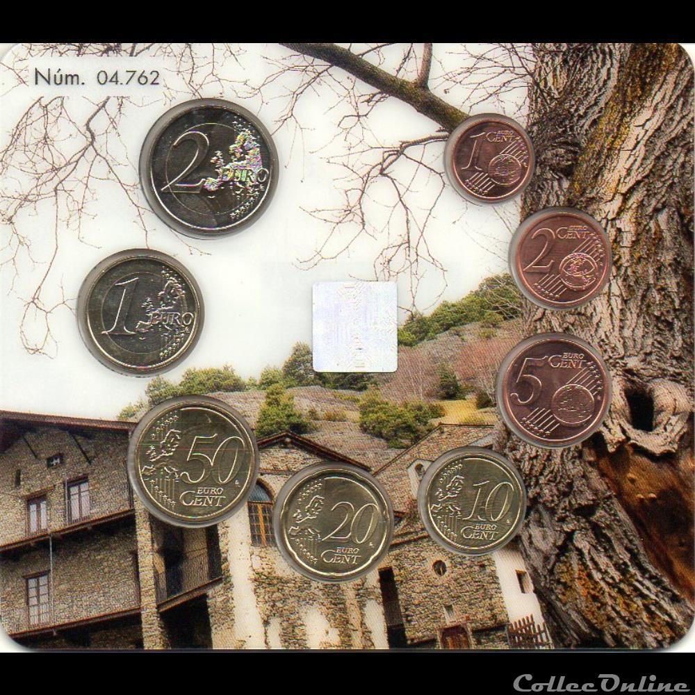 monnaie euro a andorre bu 2019 serie bu