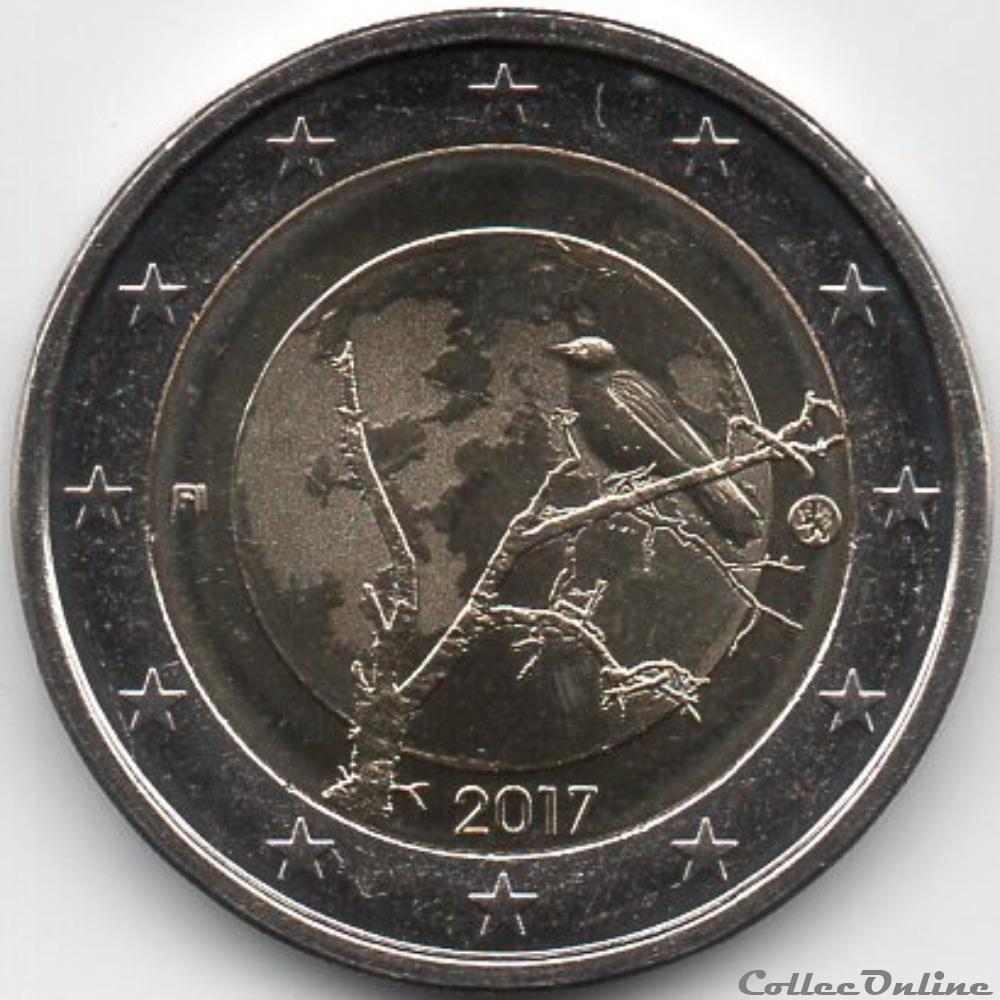 monnaie euro finlande 2017 la nature par kari auvinen finlandaise