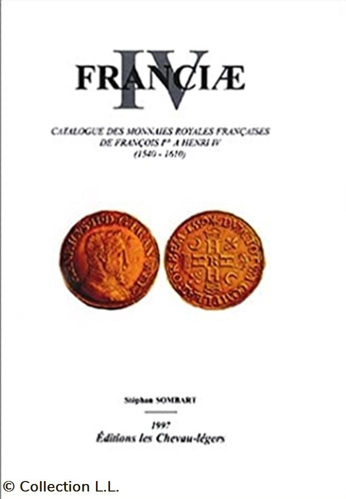 monnaie livre ouvrage 1997 franciae iv