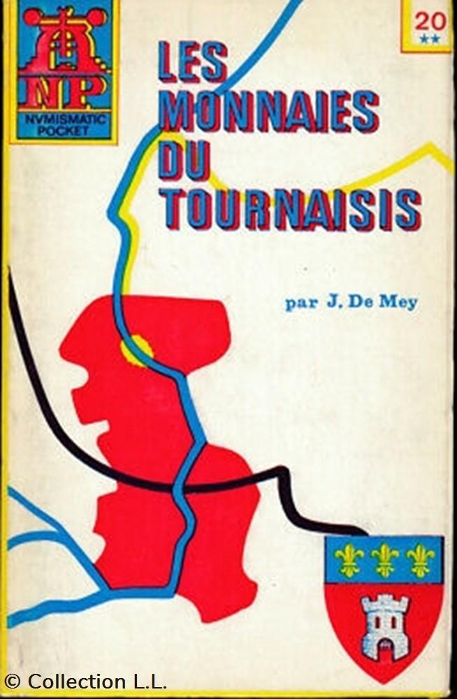 livre ouvrage 1975 les monnaies du tournaisis