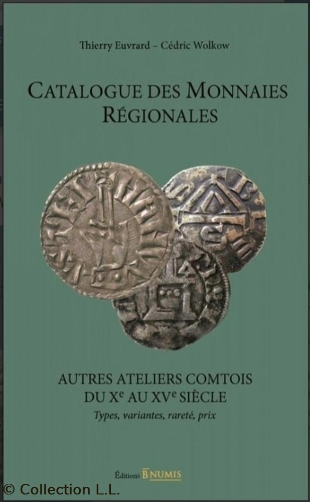 livre ouvrage 2018 catalogue des monnaies regionales