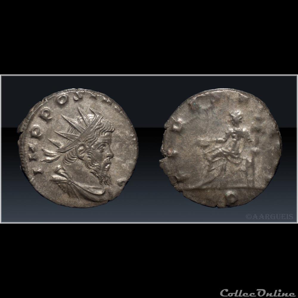monnaie antique romaine 137a fides eqvit p