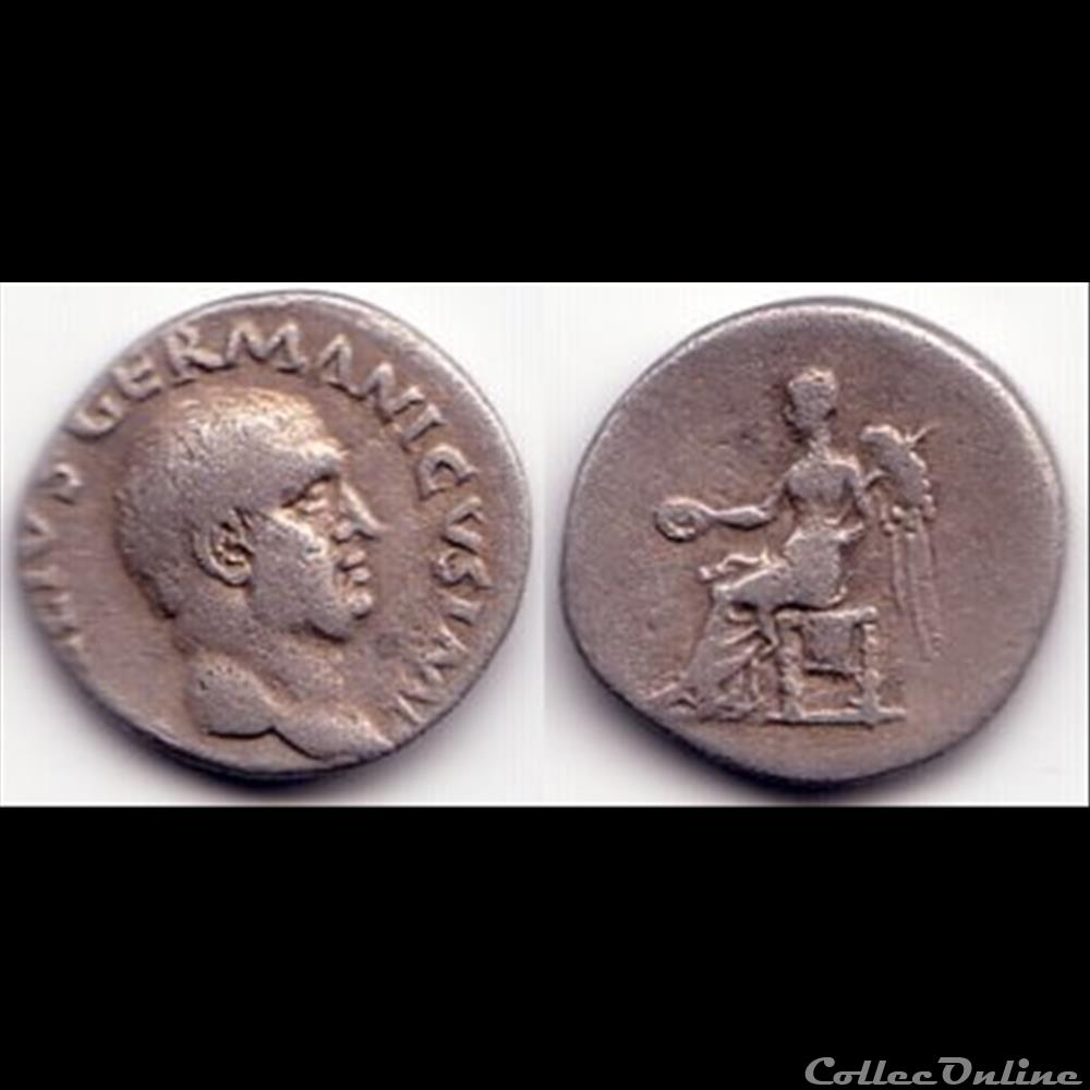monnaie antique romaine vitellius denier