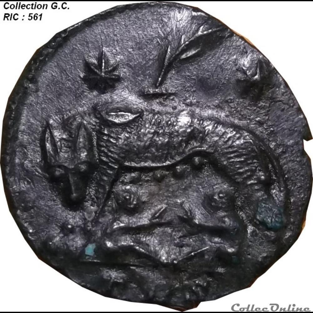 monnaie antique romaine vrbs roma ric 561