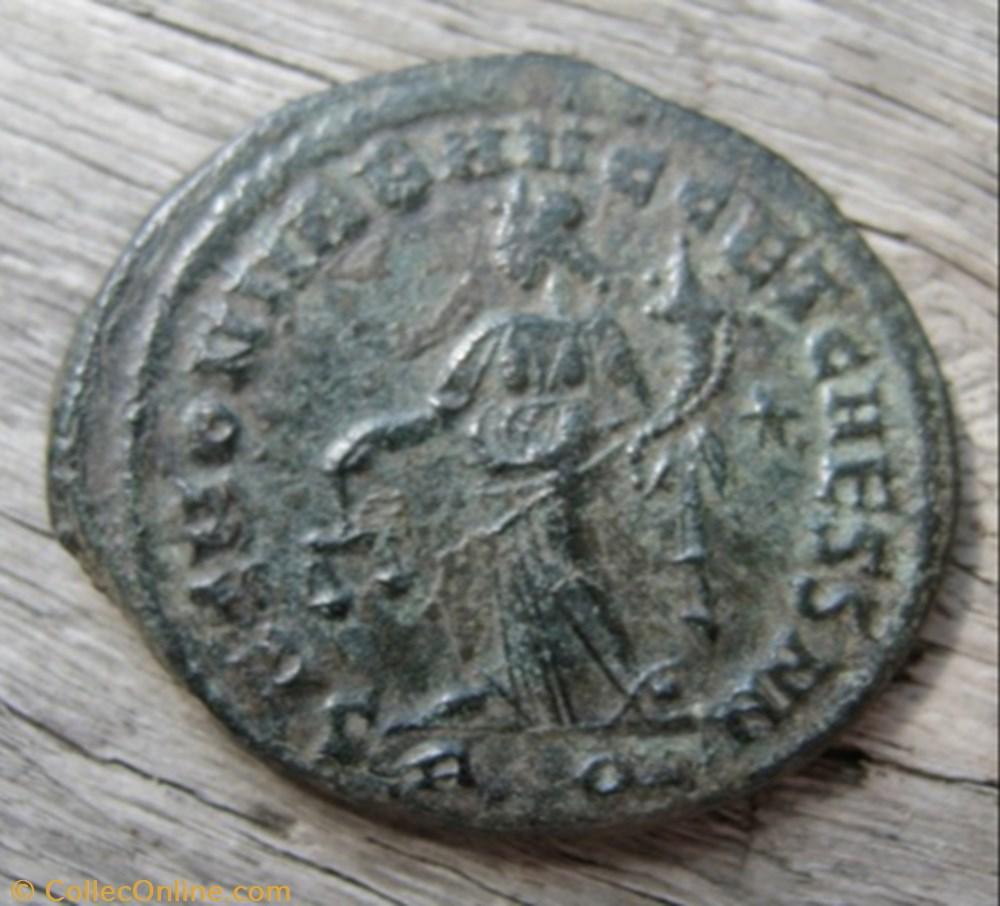 coin ancient b c to roman imperial galerius moneta