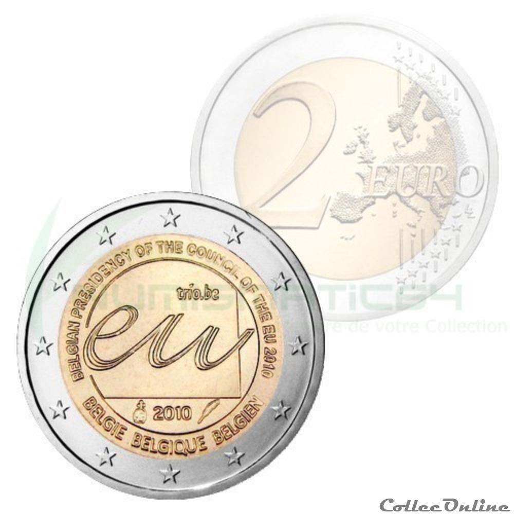 monnaie belgique presidence europeenne 2010