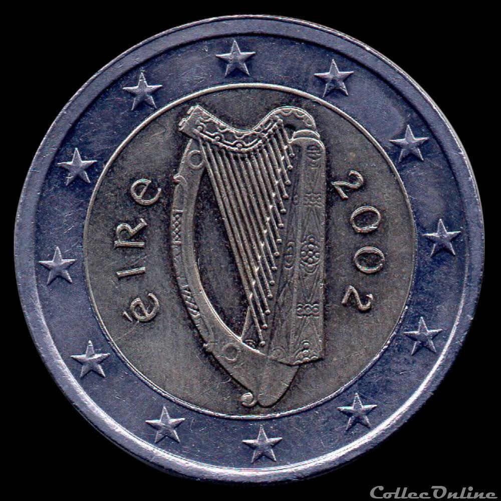 monnaie 50 cis irlande 2002