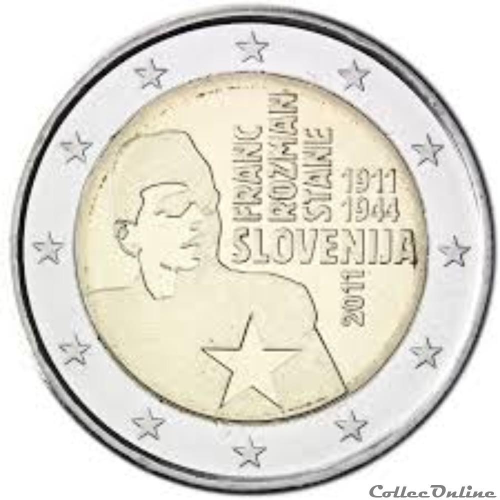monnaie euro slovenie franc rozman 2011
